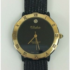 Dufonte Lucian Piccard Unisex Watch Black Gold
